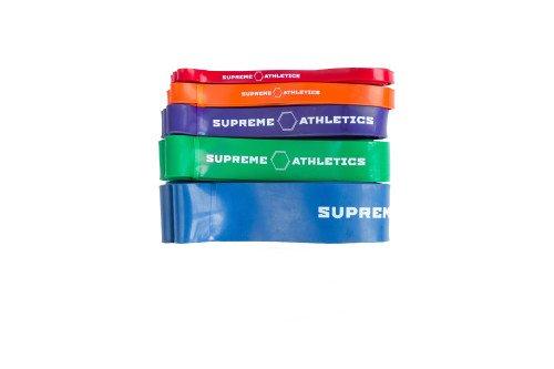 Комплект из 5 резиновых петель Supreme Athletics
