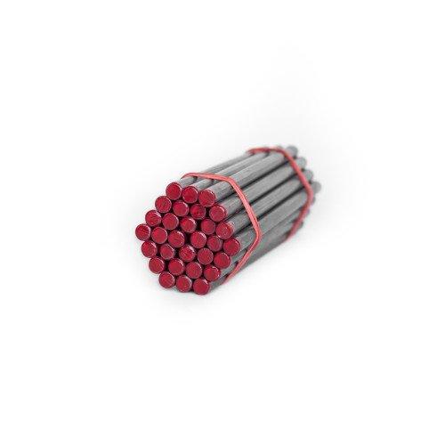 Красный атлетический прут для сгибания