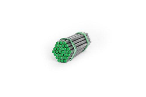 Зеленый атлетический прут для сгибания