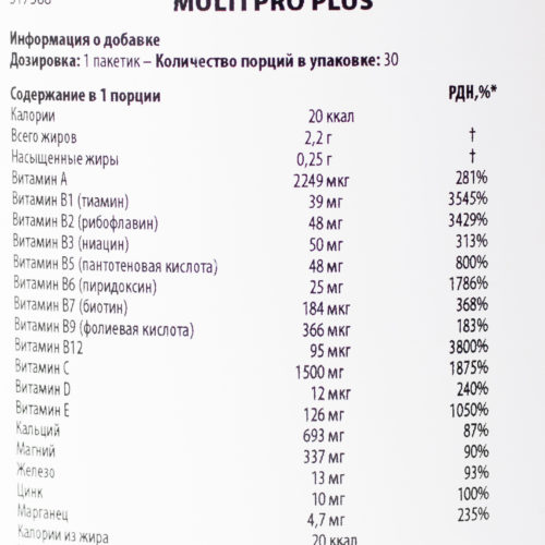 Витамины Scitec Nutrition Multi PRO Plus 1