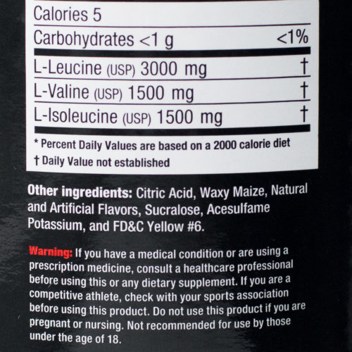 Ultimate Nutrition BCAA 2:1:1 1