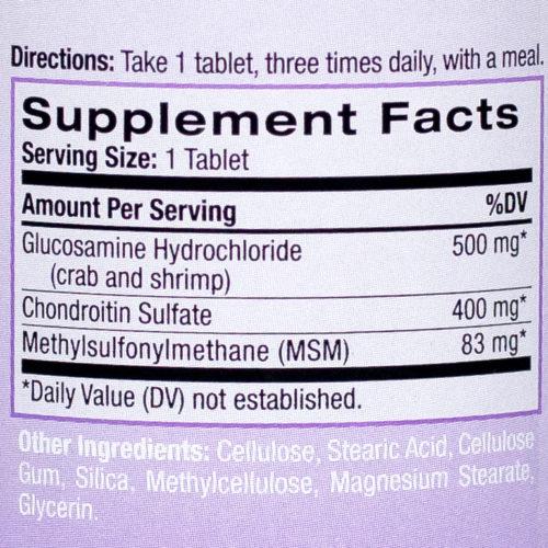 Natrol Glucosamine Chondroitin MSM 2