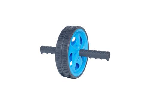 Ролик для пресса 18 см LiveUp двойной синий