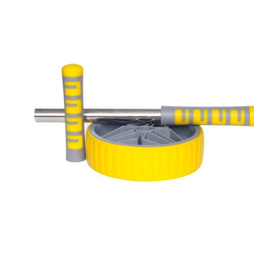 Ролик для пресса 19 см LiveUp желтый 1