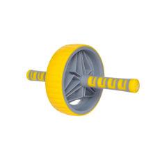 Ролик для пресса 19 см LiveUp желтый (главная)