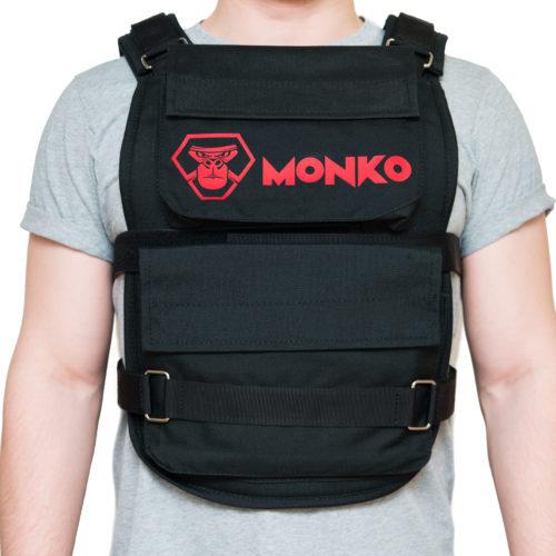 Жилет утяжелитель 20 кг Monko