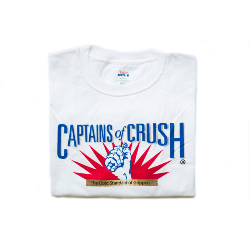 Футболка белая Captains of Crush