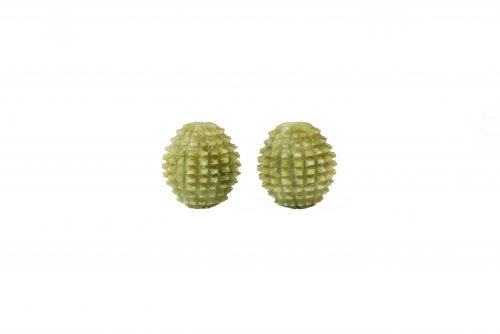 Нефритовые шары Баодинг ёжик 45 мм