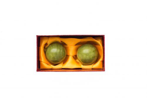 Нефритовые шары Баодинг 40 мм 1