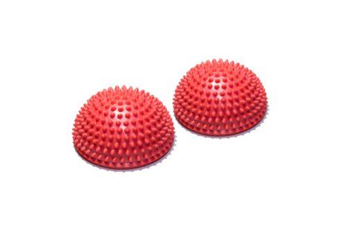 Массажно-балансировочная сфера OFT, красная