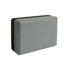 Блок для йоги IronMaster серо-чёрный IR97416B3