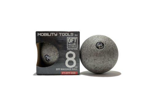 Массажный шар Original Fit Tools 8 см, серый