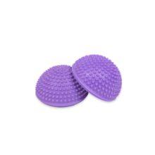 Набор из двух штук массажных полусфер Atletiks24 фиолетового цвета