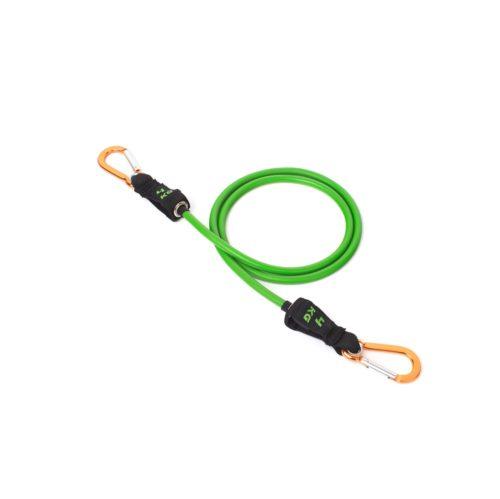 Зелёная трубка Atletika24 с карабинами (4 кг)