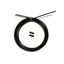 Тросик для скакалки original fit tools с заглушками черный