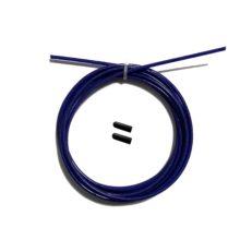 Тросик для скакалки original fit tools с заглушками фиолетовый